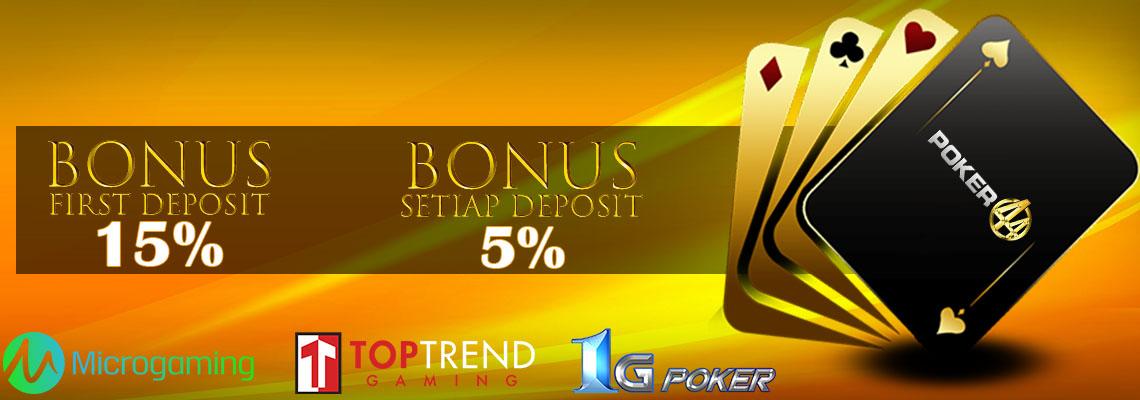 Situs PokerQQ Online Terpercaya